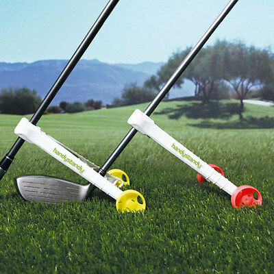 Christmas Golf Gift, perfect accessory for male or female in yellow or pink.