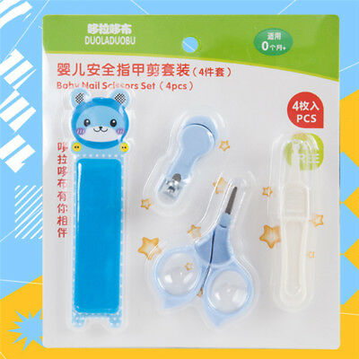 Set Newborn BABY GROOMING KIT Nail Nose Hair Health Care Body For Infant Clipper