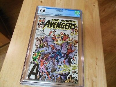 THE MIGHTY AVENGERS #250 CGC 9.6 WEST COAST AVENGERS APPEARANCE   White pages