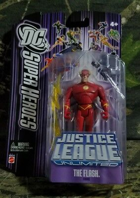 MOC DC SUPER HEROES JUSTICE LEAGUE UNLIMITED THE FLASH w/ LIGHTNING BOLTS CA
