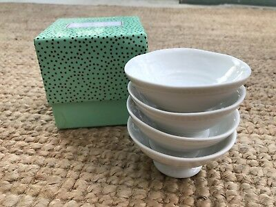 Sophie Conran for Portmeirion set of 4 mini dishes.  New in Box.  White