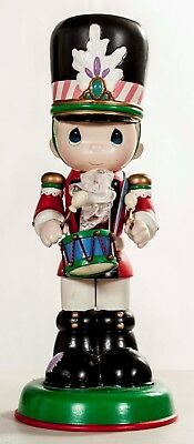 PRECIOUS MOMENTS 1994 Nutcracker with drum by Enesco Christmas collectible