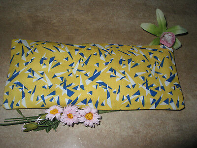 Handmade Abstract Print Fabric Lavender Filled Yoga Relaxation Eye Pillow