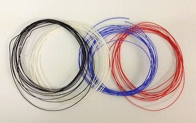 7/0.2mm Stranded Equipment Hook Up Wire. 1.4A. 1.3mm O/D. Choice of 11 Colours