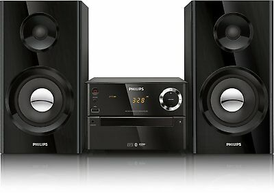 BRAND NEW Philips BTM2180/37 Micro Music System Black