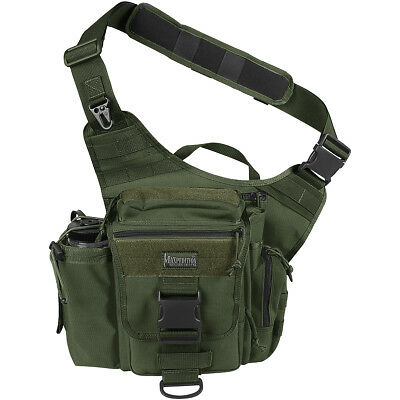 Maxpedition Jumbo Versipack Hunting Shoulder Bag Nylon Messenger Pack OD Green