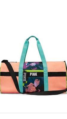 ecb6c6f2264e NEW WITH TAGS! Victoria's Secret Pink Weekender Duffle Gym Bag ...