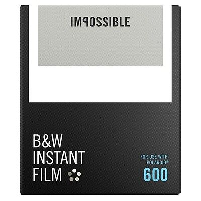 Impossible / Polaroid Black & White Instant Film for Polaroid 600