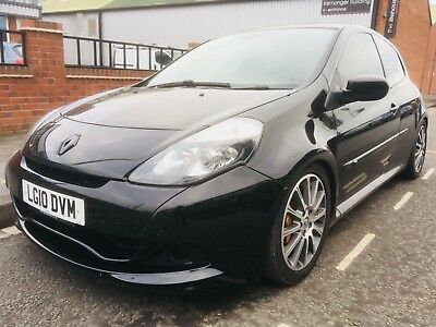 2010 Clio Renaultsport 200 in black, mot and service history
