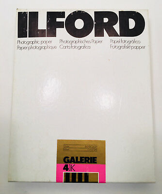 Ilford Galerie 4.1K Glossy Double Weight 8x10 100sh Sealed in box