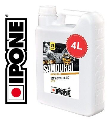 Oil Ipone Samurai Racing 2 Time 2-cycle 100% Synthesis New
