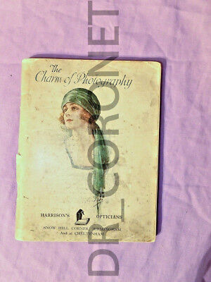 "Ensign Catalogue ""the Charm Of Photography"" Harrison's Birmingham Ensign  Ltd"