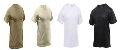 bcf978aa1d6 QUICK DRY PERFORMANCE Military Moisture Wicking T-Shirt Rothco ...