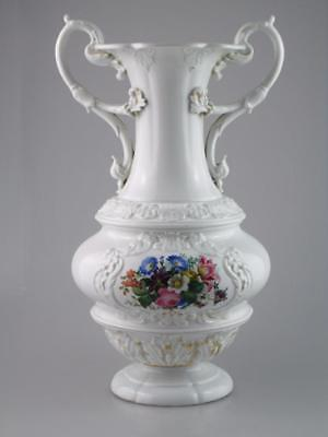 Large Antique Meissen Late 19th Century Vase Circa 1890
