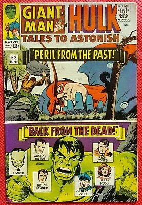 Tales to Astonish 68 Marvel Silver Age 1965 Human Top new costume