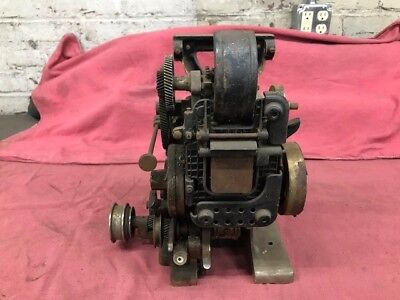 POWERS Silent 35mm Motion Picture Projector 1920's