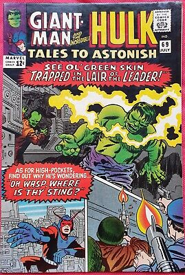 Tales to Astonish 69 Marvel Silver Age 1965 Last Issue with Giant-Man & Wasp