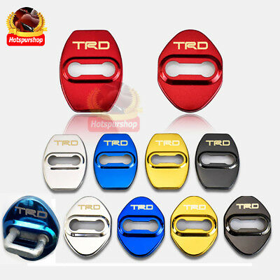 Stainless-Steel-Door-Lock-Cover-Car-Sticker-JDM-Toyota-TRD-Corolla-Avensis-Rav4