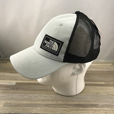 e3dd7e96b3492 THE NORTH FACE Mudder Trucker Hat Cap Snapback Light Grey One Size ...