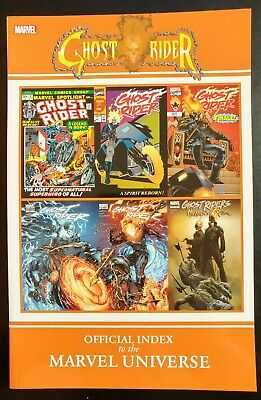 GHOST RIDER #1 Offical Index (TPB Trade Paper Back) (MARVEL) ~ VF/NM Book