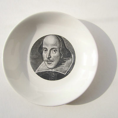 William Shakespeare HOLKHAM LIDOR Dish Shakespeare Exhibition 1564 -1964 D11cm