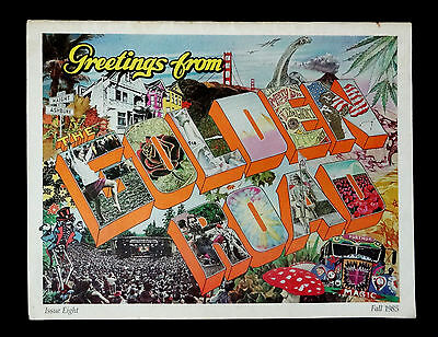 Grateful Dead The Golden Road Magazine 1985 Fall Issue 8 GD Movie Bill Graham