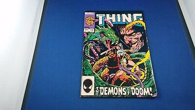 Marvel The Thing #13 July 1984