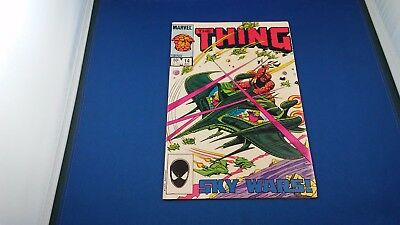 Marvel The Thing #14 Aug. 1984