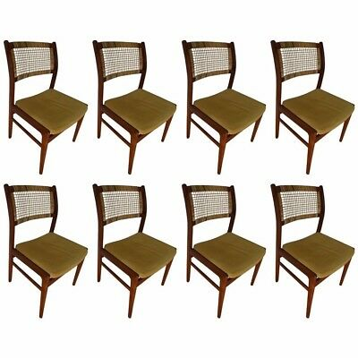 Dining Room Chairs from DUX of Sweden Designed by Sylve Stenquist, Set of Eight