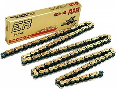 D.I.D 428NZ-138 Gold 138-Link High Performance Racing Chain With Connecting Link