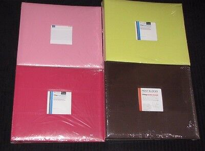"Couture Creations 12x12"" 3 RING BINDER ALBUM 'PATCHES - BROWN' *NEW* RRP $19.99"