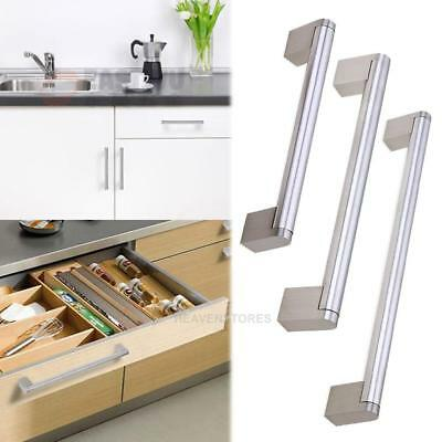 Cabinet Pull Square Handle Drawer Handles Kitchen Stainless Steel Door Bar Knob