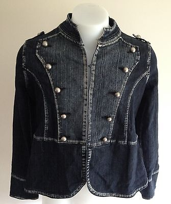 Pumpkin Patch Maternity Denim Jacket Size M