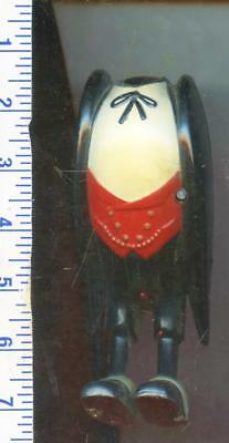 VTG. Antique Old Crow Plastic Whiskey Advertising COUNTER DISPLAY NO HEAD AS-IS