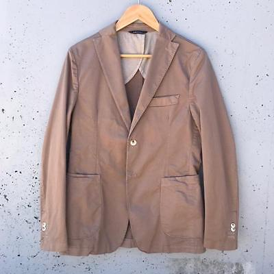 New White Lab Unstructured Sports Jacket - Camel