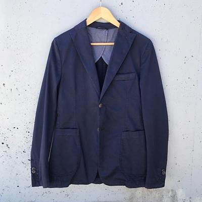 New White Lab Unstructured Sports Jacket - Navy