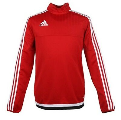 Adidas Youth Tiro 15 Training Soccer Climacool Red Running GYM Kid Shirts M64022