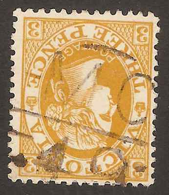 VICTORIA BARRED NUMERAL: 'MC/49' on 3d Postage (rated S)