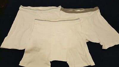 Wholesale lot of 100 Piece Stafford Men's Boxer Briefs Sizes S, M, L, XL New