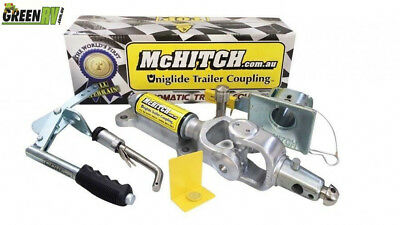 McHitch 3.5T AUEF35K Easy Fit Automatic Coupling Caravan Enclosed Trailer Camper