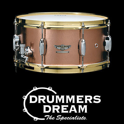 """Tama Star Reserve Snare Vol 4 14x6.5"""" - Hand Hammered Copper"""
