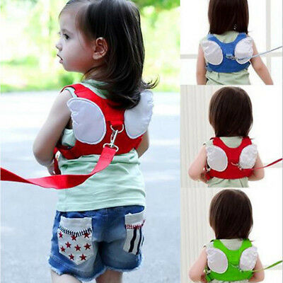Hot Baby Kids Safety Harness Strap Toddler Walking Anti-Lost Rope Traction Rope