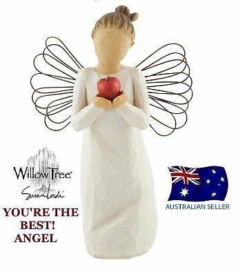Willow Tree YOU'RE YOURE THE BEST ANGEL Figurine Susan Lordi Demdaco NEW IN BOX