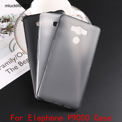 Phone Case Silicon Matte TPU Comfortable Protector Back Cover For Elephone