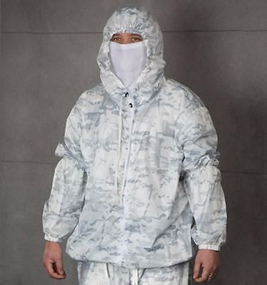 White Winter Camouflaged Militaria Multicam Alpine