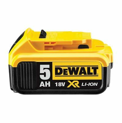 NEW Genuine Dewalt DCB184 18v 5.0Ah XR Li-Ion 5ah Lithium Slide Battery