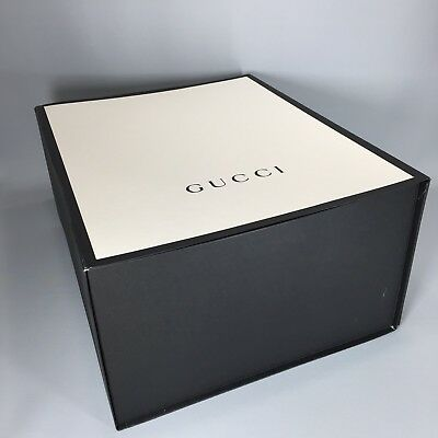 3235639b698 GUCCI EMPTY PURSE Box Large Magnetic Black And White -  145.44 ...