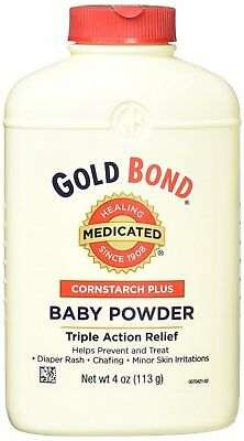 Gold Bond Cornstarch Plus Baby Powder, 4 oz.