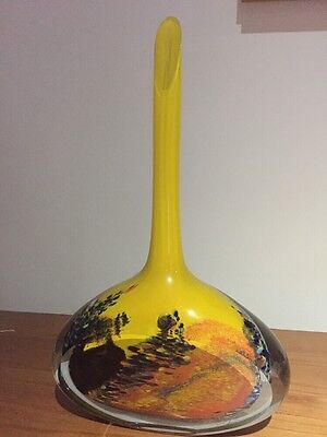 Hand Made Blown Glass Made By Artist Ioan Nemtoi