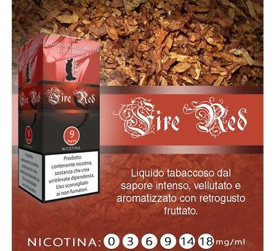 LOP Tabacco Fire Red